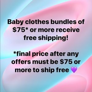 Other - 💜 Baby Clothes Bundle Special Offer 💜